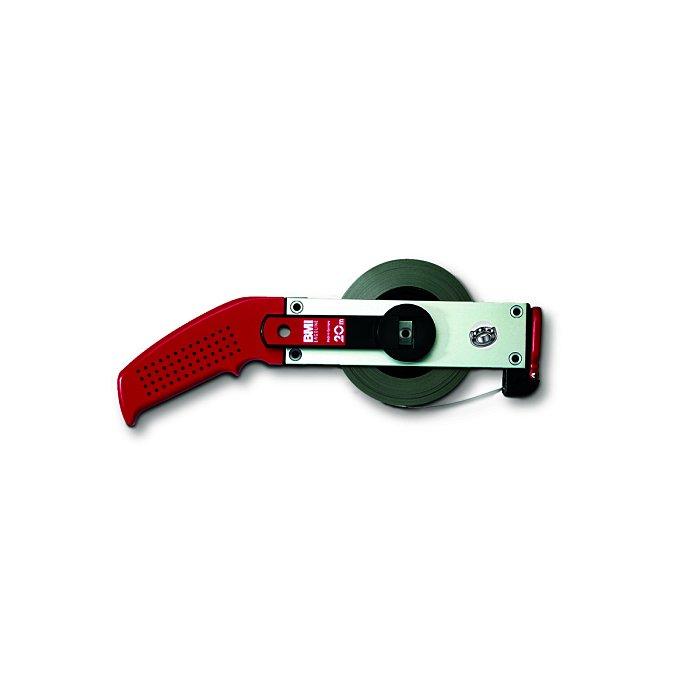 BMI Stahlbandmaß - weißlackiert, 13 mm, 20 m cm/- Ergoline Größe I 301011020L