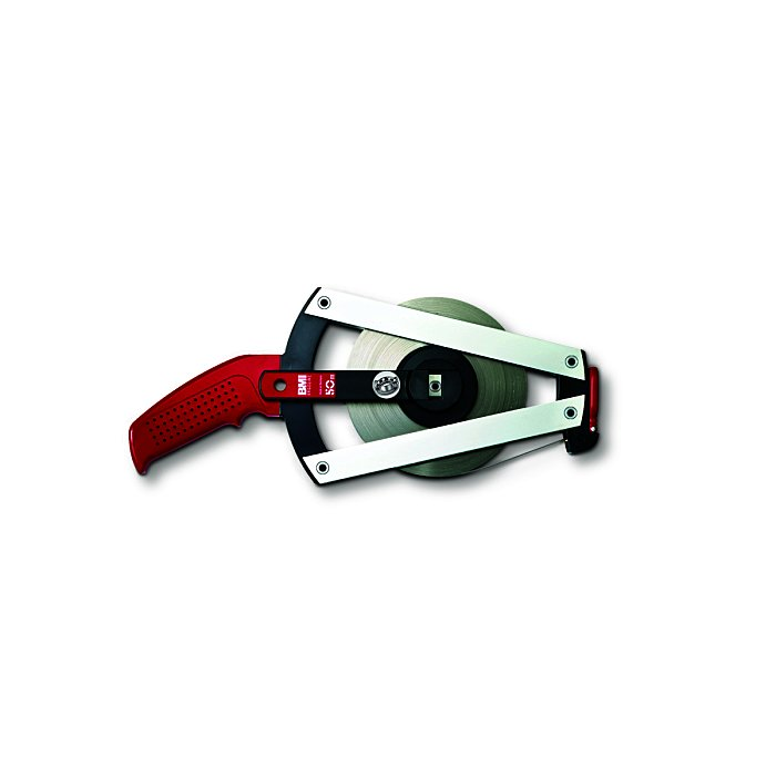 BMI Stahlbandmaß - weißlackiert, 13 mm, 30 m cm/- Ergoline Größe III 301031030AF