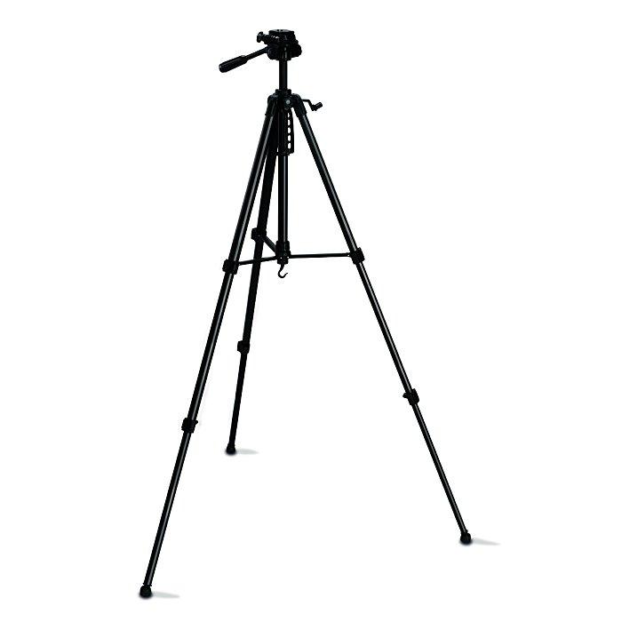 """BMI Stativ 630-1700mm in Tasche, Anschluß 1/4"""" - 3D-Kopf 711212-02"""