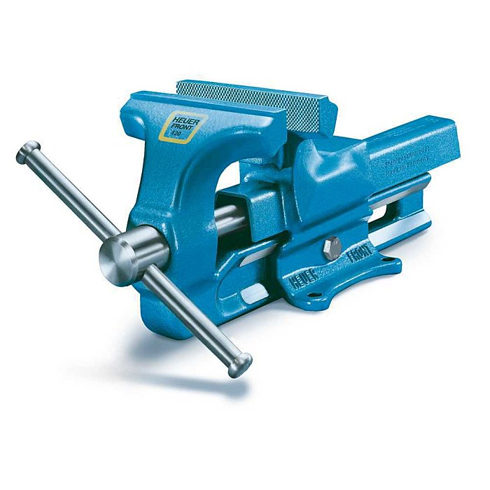 HEUER Parallel-Schraubstock Backenbreite 140mm Normalausführung 100140