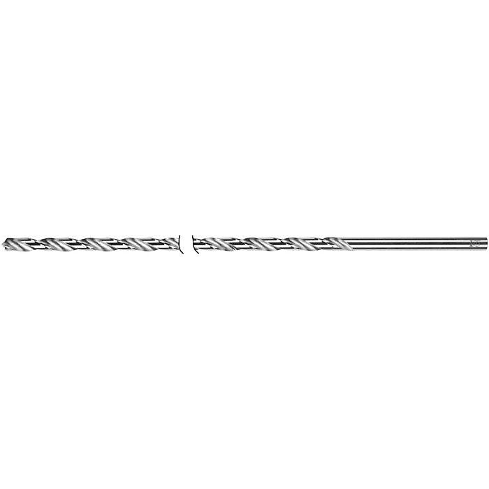 Löher Spiralbohrer, zyl., Sonderlänge 200 - 400mm Ø 3mm Typ N HSS rechts 144/02-3mm