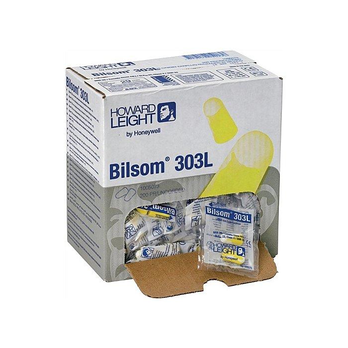 Honeywell Gehörschutzstöpsel Bilsom 303L paarweise Nachfüllbox 200Paar/VE SNR33dB EN352-2 1005073