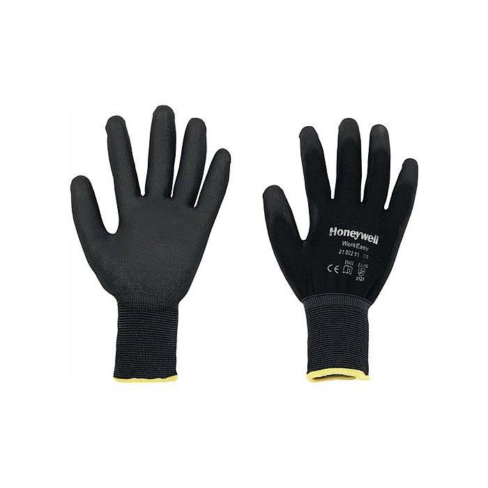 Honeywell Handschuhe Gr. 9 Workeasy Black PU,EN388,PES m.PU-Beschichtung schwarz 2100251/9