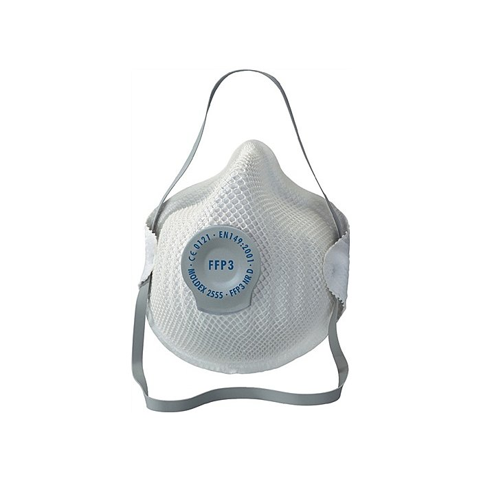 Moldex Atemschutzmaske 2555 FFP3NRD b.30xAGW-Wert MOLDEX EN149:2001+A1:2009 255501