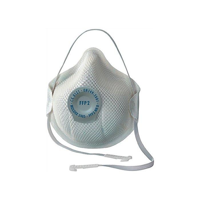 Moldex Atemschutzmaske 2485 FFP2NRD b.10xAGW-Wert MOLDEX EN149:2001+A1:2009 248501 FFP2D