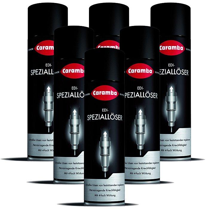 Caramba Injektoren-Speziallöser EDI-Speziallöser Injektor-Reinigung 500ml 6 Stück 6x6610050