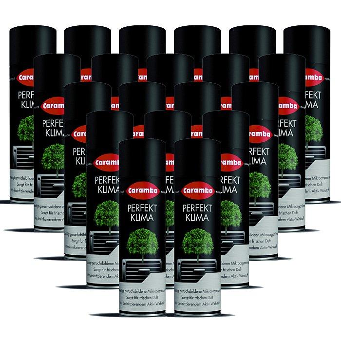 Caramba Perfekt Klima Luftsystem-Reiniger Spray 100ml 20 Stück 20x64501101
