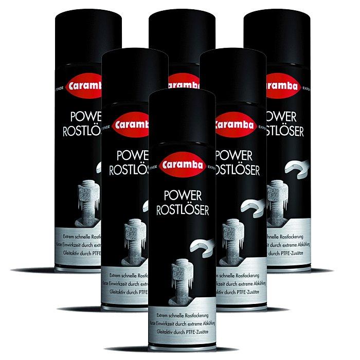Caramba Rostlöser Eis Eisrostlöser Rostlöser Power Korrosionslöser Kfz 500ml 6 Stück 6x6610001