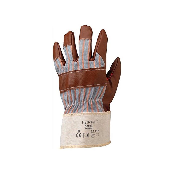Ansell Handschuhe EN388 Kat. II Hyd-Tuf 52-547 Gr.10 Baumwoll-Jersey m.Nitril braun 52-547-10