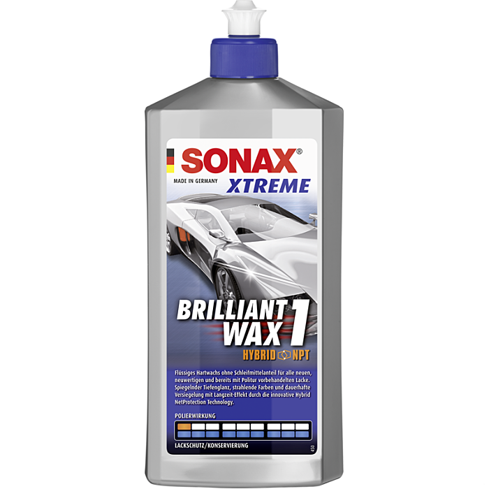Sonax Xtreme Brilliant Wax 1 Hybrid NPT 500 ml 02012000