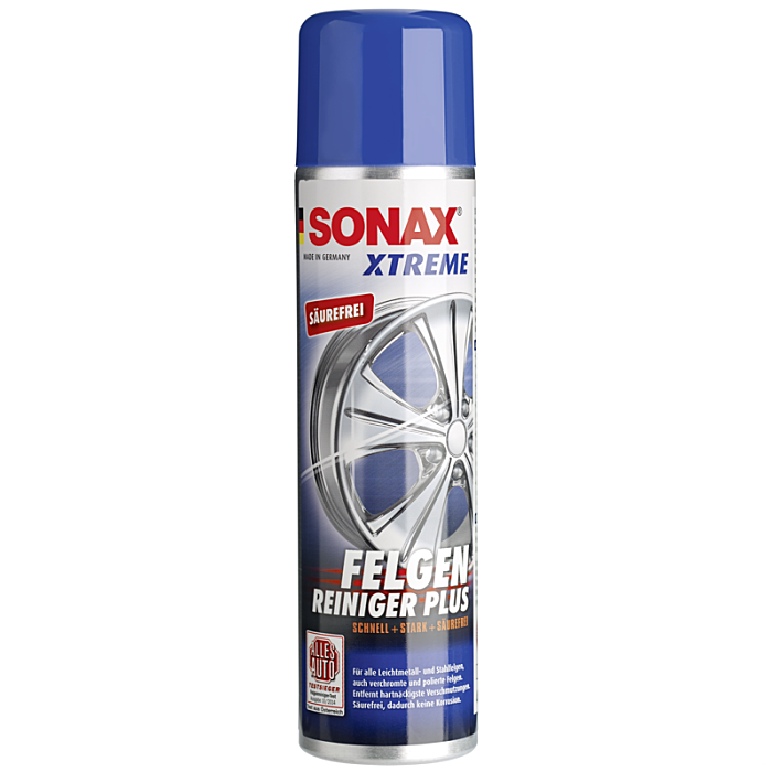 Sonax Xtreme Felgen Reiniger PLUS Alufelgen Stahlfelgen Auto 400 ml 02303410