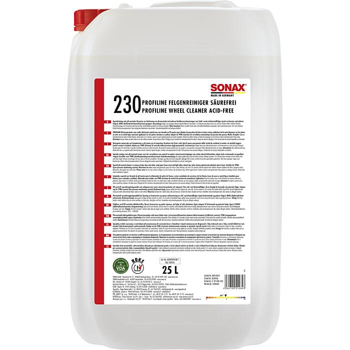 Sonax FelgenReiniger PLUS säurefrei 25 Liter 02307050