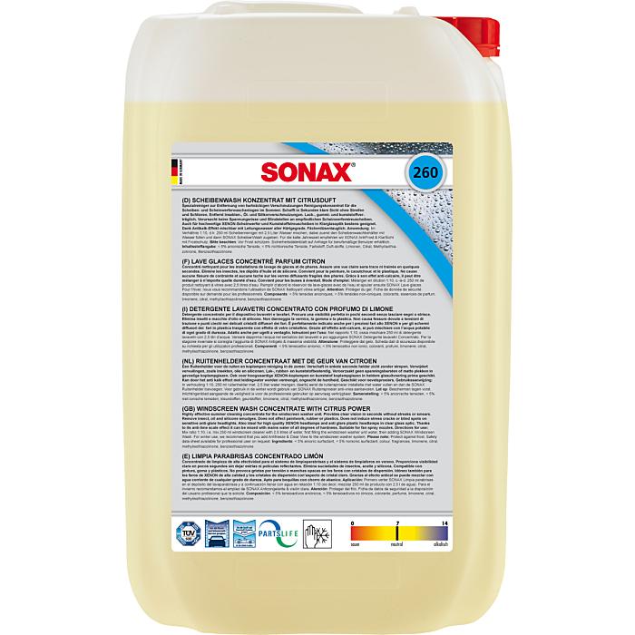 Sonax ScheibenWash Konzentrat mit Citrusduft 25 Liter 02607050