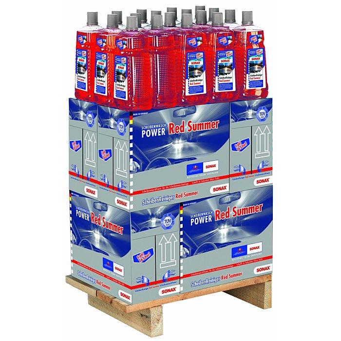 Sonax Scheiben Reiniger Konzentrat Red Summer 1/4 Palette 2 Liter 02668410