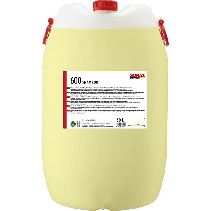 Sonax GlanzShampoo mit Enthärter Shampoo Glanz 60 Liter 06008000