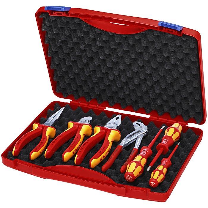 Knipex Werkzeug-Box 7-teilig für die Elektromontage 00 21 15