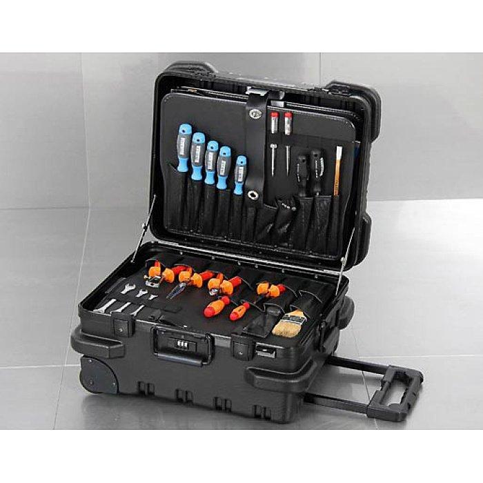 Hepco & Becker CHICAGO CASE 5530 Bruchsicherer XXL-Werkzeugkoffer mit integriertem Rollensystem 00 5530 8019