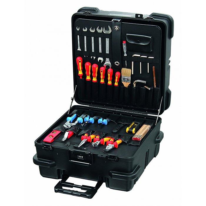 Hepco & Becker CHICAGO CASE 5535 Bruchsicherer XXL-Werkzeugkoffer mit integriertem Rollensystem 00 5535 8019