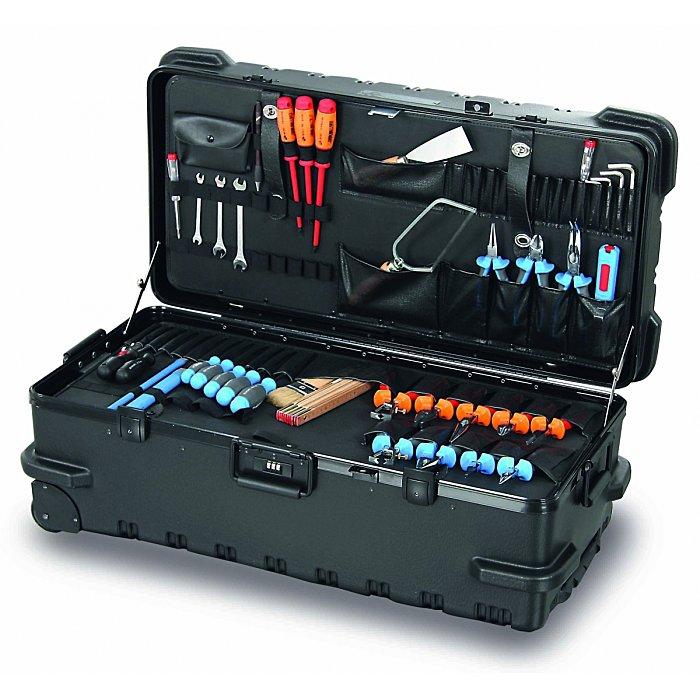 Hepco & Becker CHICAGO CASE 5545 Bruchsicherer XXXXL-Werkzeugkoffer mit integriertem Rollensystem 00 5545 8019