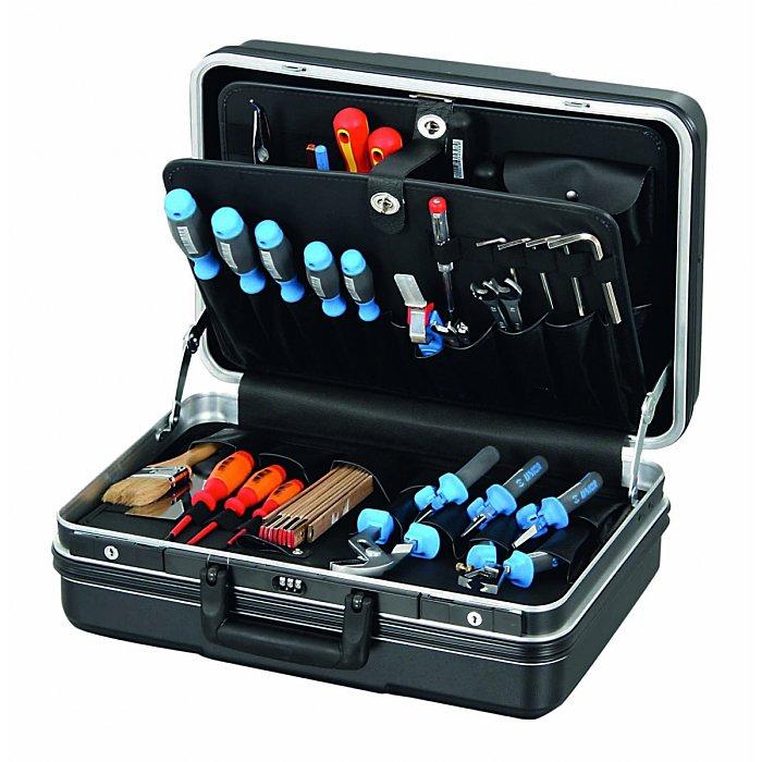 Hepco & Becker FUTURE 5222 Werkzeugkoffer ABS-PRO schwarz 460 x 180 x 310mm 10 5222 8019