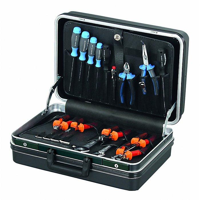 Hepco & Becker CLASSIC 5113 Werkzeugkoffer ABS-PRO schwarz 460 x 240 x 310mm 00 5113 8019