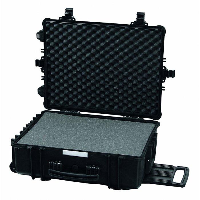 Hepco & Becker SOLID 5650 Wasserdichter Polypropylen Koffer mit integriertem Rollensystem 580 x 440 x 220mm 00 5650 8019