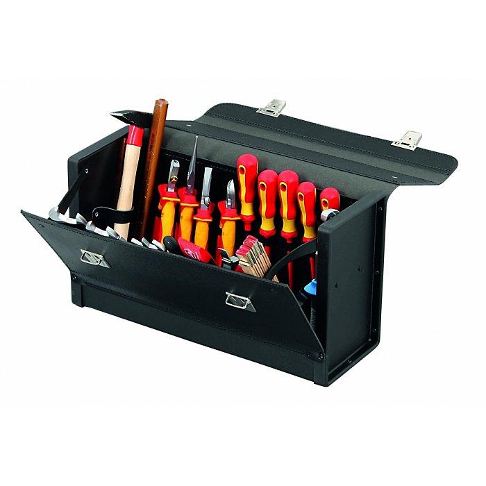 Hepco & Becker FAVORIT 7351 Werkzeugtasche aus hochwertigem Material mit Schloss 420 x 150 x 250mm 50 7351 8019