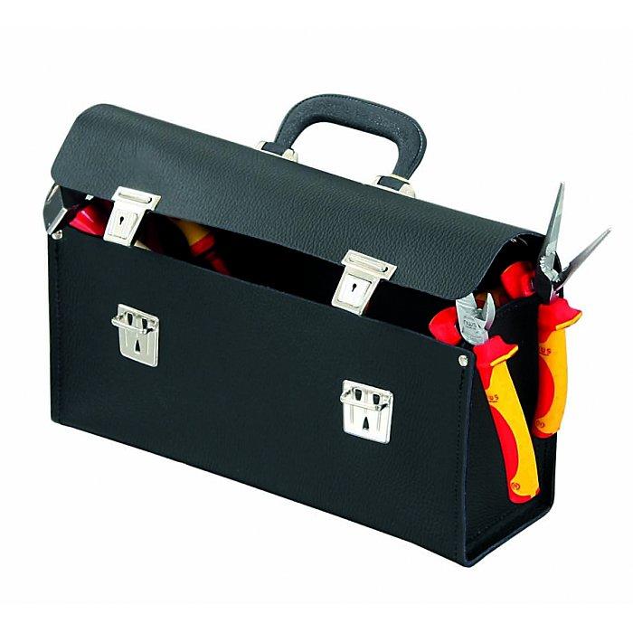 Hepco & Becker FAVORIT 7190 Werkzeugtasche aus hochwertigem Material mit Schloss 340 x 110 x 170mm 50 7190 8019