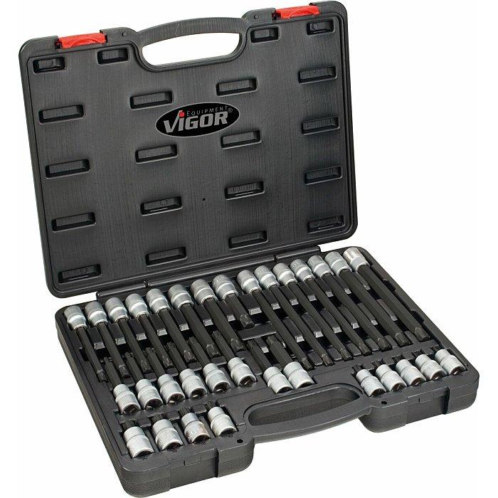 Vigor RIBE Schraubendreher-Einsatz Satz - Anzahl Werkzeuge: 32 V2201