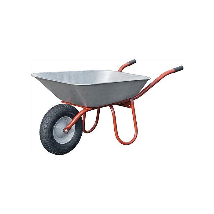 Capito Schubkarre Carry Wand-S. 1,5mm Inhalt 85l Luftrad 400/100 Kunststoff-Gleitl. 112710