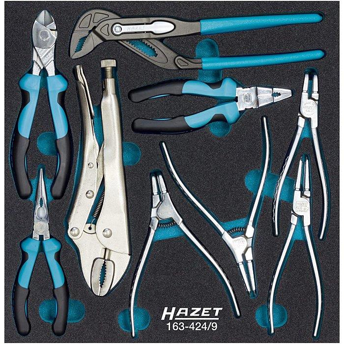 HAZET Zangen-Satz - Anzahl Werkzeuge: 9 163-424/9