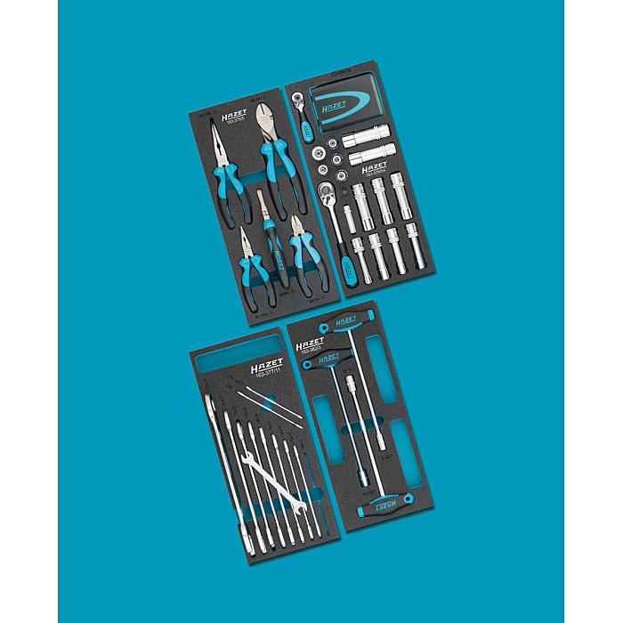 HAZET Werkzeug-Sortiment - Anzahl Werkzeuge: 73 0-2500-163/73