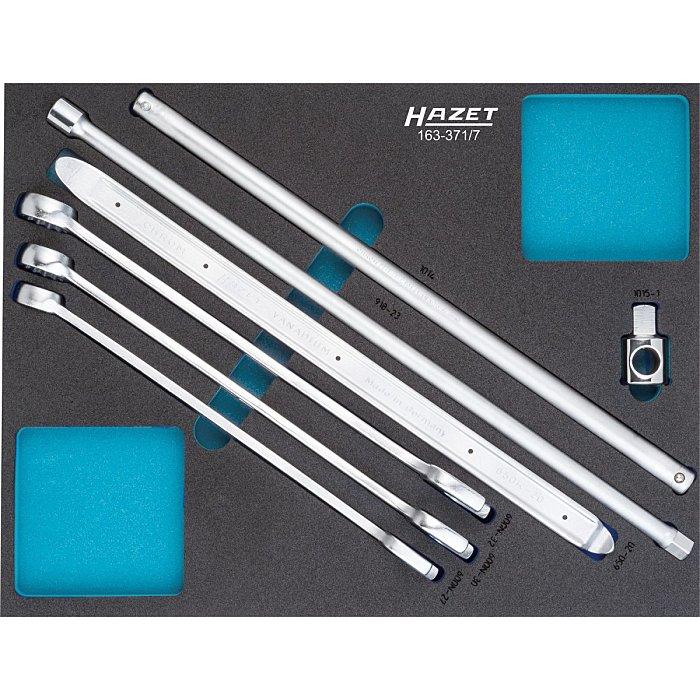 HAZET Werkzeug-Sortiment - Anzahl Werkzeuge: 7 163-371/7