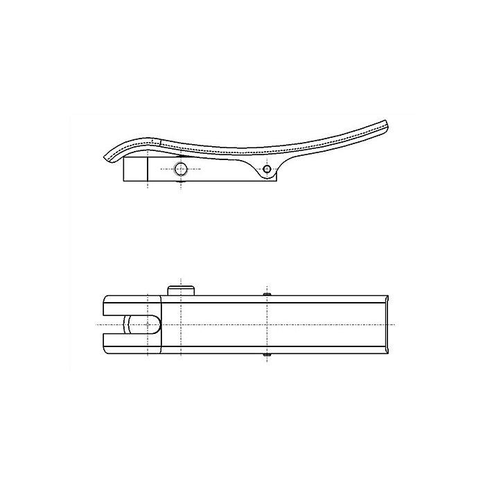 Käfer Abhebevorrichtung f.Außenring-D.58mm schwenkbar f.Messuhren 40031