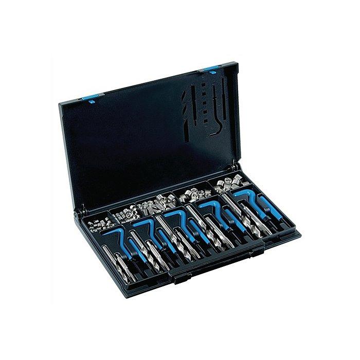 Völkel Gewindereparatursortiment DIN8140 Typ Standard M5-M12 rostfreier Stahl 1,5xD 4081