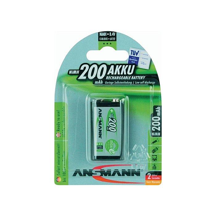 ANSMANN Akkuzelle E-Block MAX E 200mAh 8,4V ANSMANN 5035342