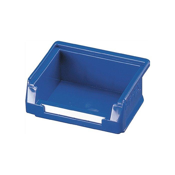 KAPPES Sichtlagerkasten Gr.8 blau L.85xB.105xH.75mm f.Schlitzplatte 6006.60.0650