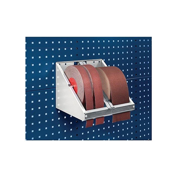 Bott Schleifpapierrollenhalter f.Rollenbreite max.120mm für Lochplatten Bott 14022040.16V
