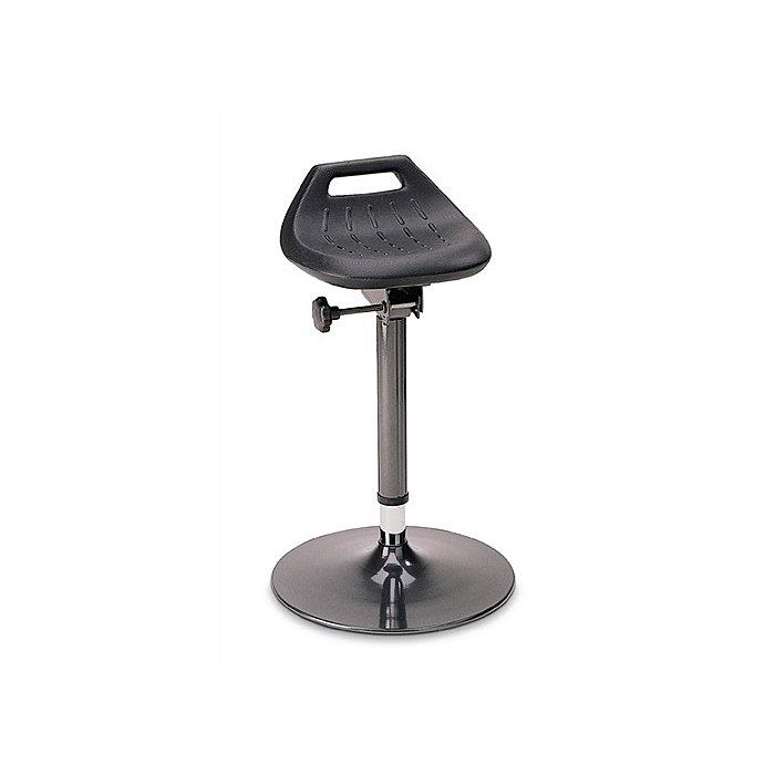 Bimos Stehhilfe Profi m.Tellerfuß standfest anthrazit Sitz-H.650-850mm BIMOS S9454-  2000