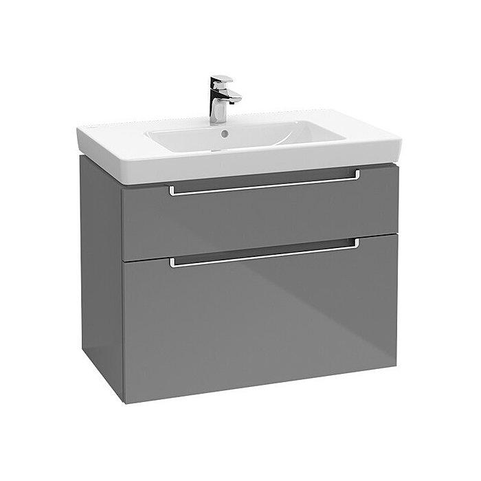 Villeroy & Boch Waschtischunterschrank Subway 2.0 A91400 787x590x449 Glossy White A91400DH