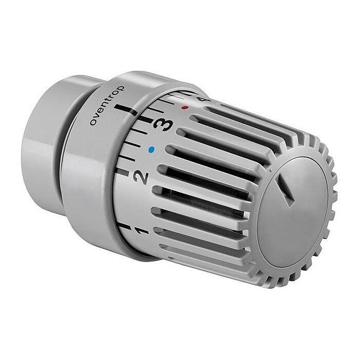Oventrop Thermostatkopf UNI LH mit Decoring, schwarz 1011467