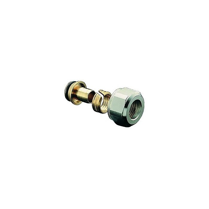 Oventrop Klemmringverschraubung 18x2,0mm m.Überwurfm.., f.Kunststoffrohr 1027761