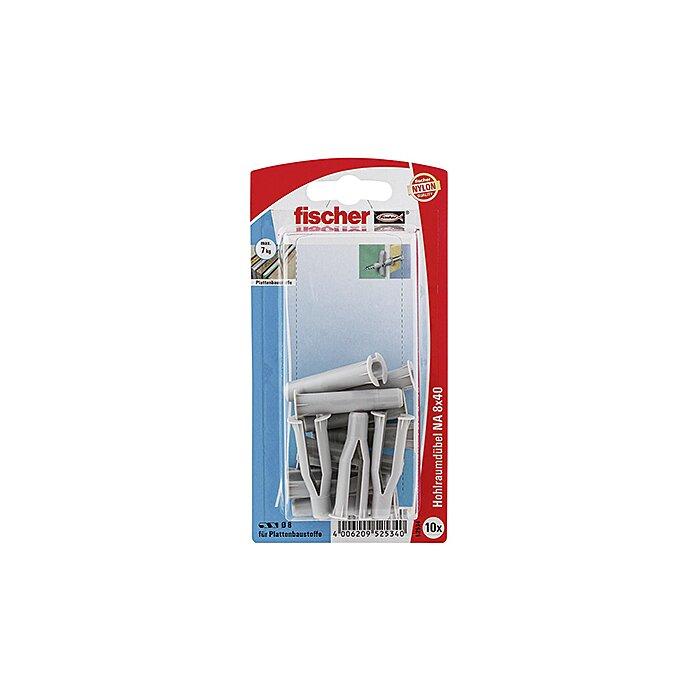 Fischer Hohlraumdübel NA 8 x 40 K SB-Karte 052534