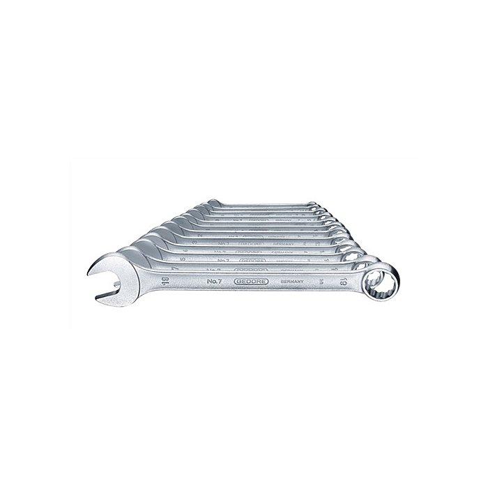 GEDORE Ring-Maulschlüssel-Satz 12-tlg UD-Profil 6-19 mm 6091530