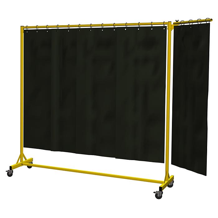 KLW Schwenkarm 600 mm mit PVC-Schweissvorhang 03/STWSA-600