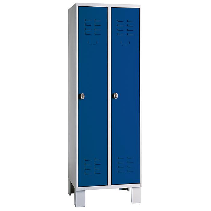KLW Stahl-Kleiderschrank mit Füßen 08/82-SA