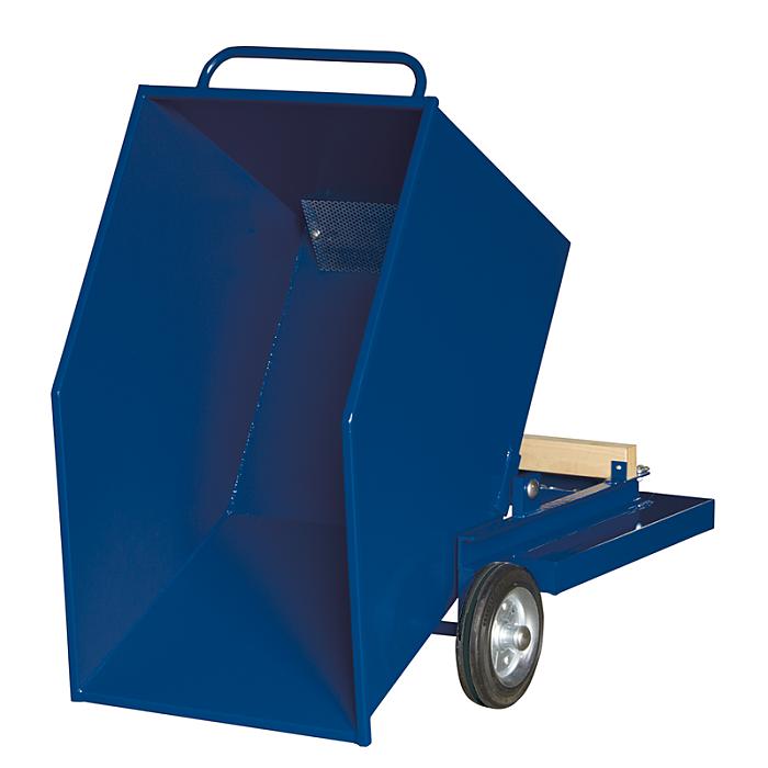 KLW Blechkastenwagen mit komplett dichtgeschweißtem Kippbehälter, 8615-6050-400L