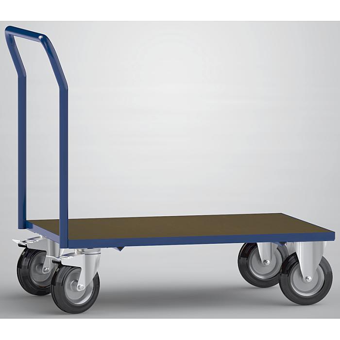 KLW Plattformwagen mit 1 Ladefläche aus phenolharzvergütetem Sperrholz 8601-6002L-1C12