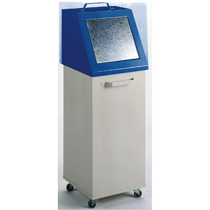 KLW Wertstoffbehälter - 1255 x 420 x 420 mm H x B x T 16/WB120-F
