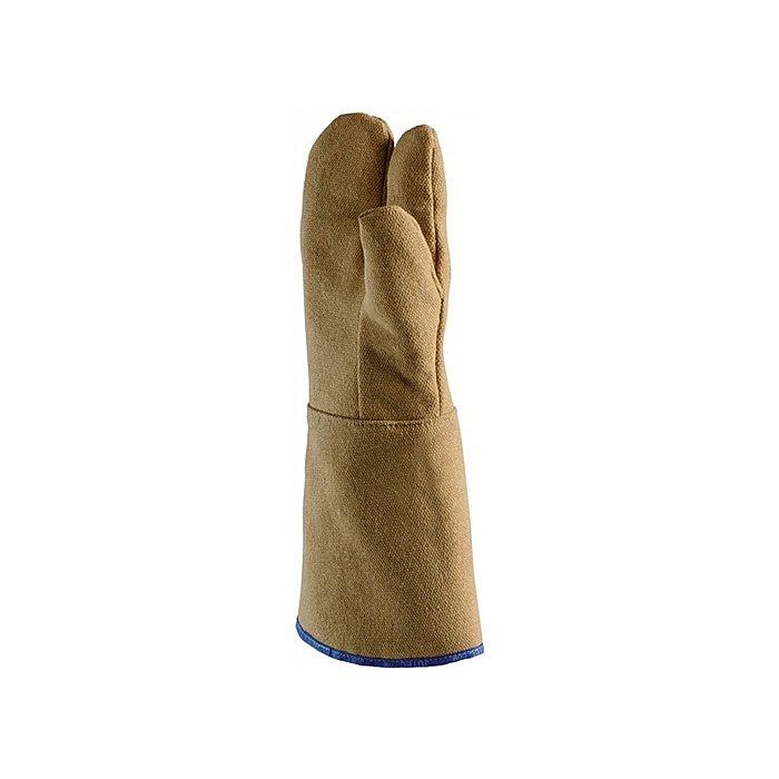 Jutec Hitzehandschuhe L.30cm max.800Grad/kurzfristig PBI-Gewebe Jutec 3-Finger H113B230-PBI